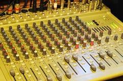 Misturador da música imagens de stock royalty free
