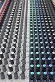 Misturador da música Imagens de Stock