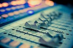 Misturador 1 da música Imagens de Stock