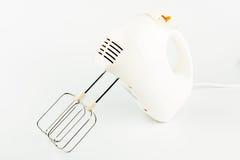 Misturador de alimento elétrico com batedores Imagem de Stock