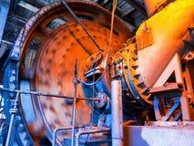Misturador de trabalho de carvão Imagens de Stock Royalty Free
