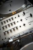 Misturador do DJ Imagem de Stock