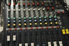 Misturador do equipamento do DJ Fotos de Stock Royalty Free