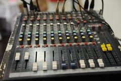 Misturador do equipamento do DJ Imagens de Stock Royalty Free