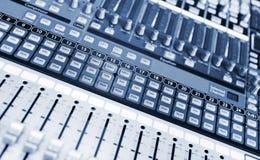 Misturador do estúdio Imagem de Stock Royalty Free