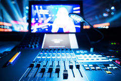 Misturador sadio audio imagens de stock
