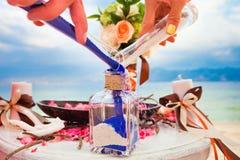 Misturar areias é uma família nova Fotografia de Stock Royalty Free