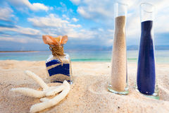 Misturar areias é uma família nova Imagem de Stock