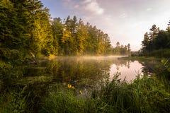 misty ανατολή Στοκ εικόνα με δικαίωμα ελεύθερης χρήσης