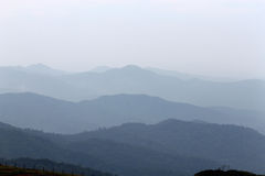misty βουνά Στοκ εικόνες με δικαίωμα ελεύθερης χρήσης