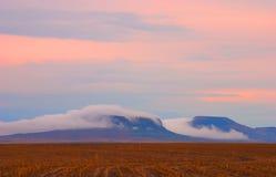 misty βουνό Στοκ εικόνες με δικαίωμα ελεύθερης χρήσης