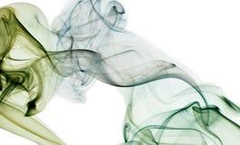 Misty καπνός που απομονώνεται αφηρημένος στο λευκό Στοκ φωτογραφίες με δικαίωμα ελεύθερης χρήσης