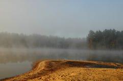 misty πρωί Στοκ Φωτογραφία