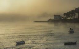misty πρωί Στοκ φωτογραφία με δικαίωμα ελεύθερης χρήσης