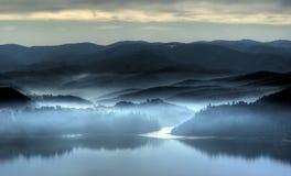 misty πρωί Στοκ φωτογραφίες με δικαίωμα ελεύθερης χρήσης