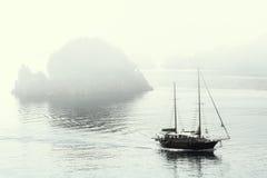 misty πρωί marmaris Στοκ Εικόνα