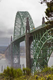 Misty bridge  with foreground Royalty Free Stock Image
