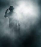 Misty businessman Stock Image