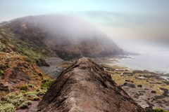 Misty Cliffs immagine stock