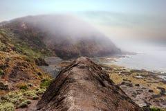 Misty Cliffs image stock