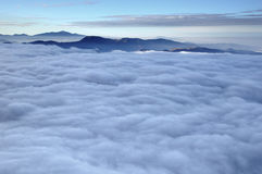 Misty clouds Royalty Free Stock Photos
