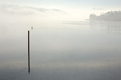 Misty Douro river Stock Images