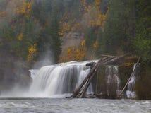 Misty Falls Royalty Free Stock Photo
