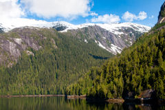 Misty Fjord, Alaska Stock Image