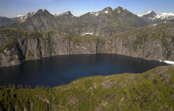 Misty Fjords - Ketchikan - l'Alaska photo libre de droits