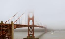 Misty Golden Gate Royalty Free Stock Photo