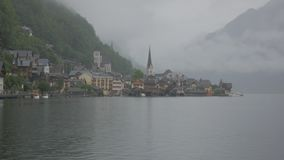 Misty Hallstatt stock footage