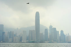 Misty Hong Kong Stock Images