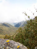 Misty Incan Valley Royalty Free Stock Images