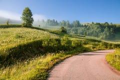 misty krajobrazu Obrazy Stock