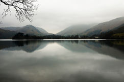 Misty Lake District Royalty Free Stock Photo
