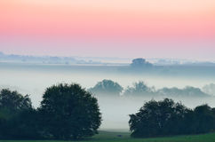 Misty landscape Royalty Free Stock Images