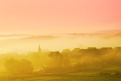 Misty landscape Royalty Free Stock Photography