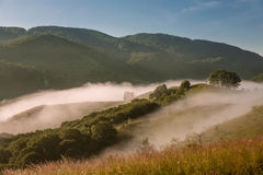 Misty Landscape Royalty Free Stock Photo