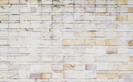Misty marble brick wall. Texture of old marble brick wall for background Stock Photo