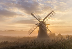 Misty Mill Lizenzfreies Stockfoto