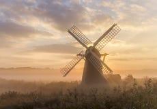 Misty Mill Royalty Free Stock Photo