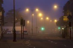 Misty Moist Morning Start Photographie stock libre de droits