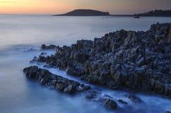 Free Misty Mood In Tojinbo Cliffs In Japan Stock Photography - 183790802