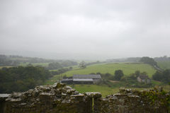 Misty moody moors. Misty moors in autumn, Corfe, Dorest England UK Royalty Free Stock Images