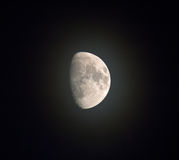 Misty Moon Royalty Free Stock Images