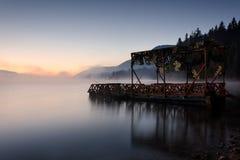 Misty Morning Royaltyfri Foto
