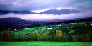 Misty Morning. A misty morning at Vermont, USA Royalty Free Stock Photo