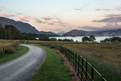Misty Morning At Lough Leane. Killarney national Park,Ireland Stock Photos