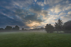 Misty morning Royalty Free Stock Images