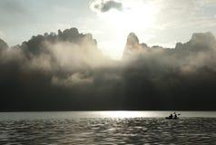 Misty Mountain Photos libres de droits